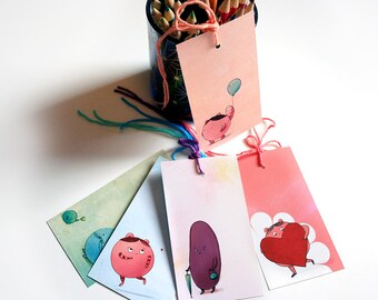 Cute potato guys - gift tags