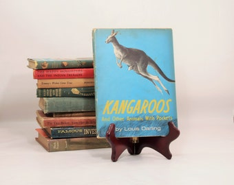 Kangaroos and Other Animals with Pockets, Louis Darling, Childrens Novel, Educational Book, Children's Book, Animal Book, Kangaroo book