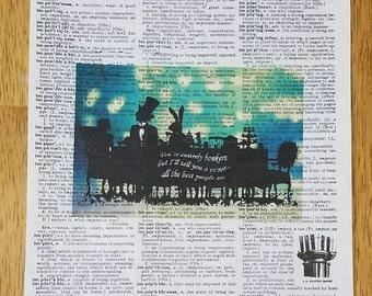 Mad Tea Party Print