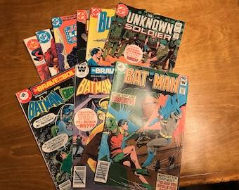 DC Comics and Whitman comics//Vintage graphic novels//Superhero Comics//Batman, Green Lantern, Justice League Comics