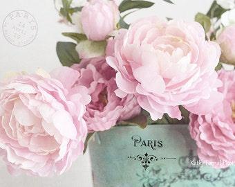 Peony Prints, Peony Photos, Peonies Photos, Paris Peonies, Peony Flower Photography, Pink Peonies Decor, Paris Peony Prints, Peony Flowers