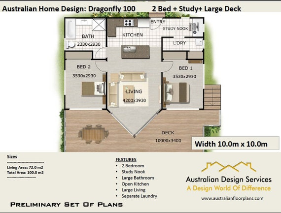 Blueprints   House Plans For Sale | 1076 Sq Foot | 2 Bed Small Plans |  Small House Plans | Tiny House Plans | Tiny 2 Bedroom House Plans
