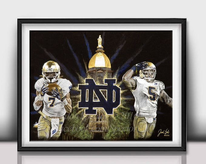 """""""The Fighting Irish"""" Art Print - 20x24 inches limited edition"""