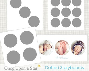 12x12 and 10x20 Dotted Storyboards Collection 1 - Photographer Resources