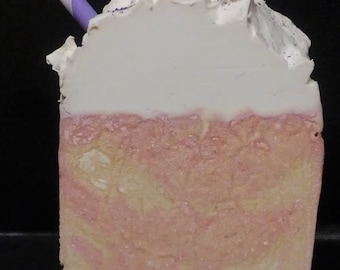 Cotton Candy scented Artisan Soap 6oz