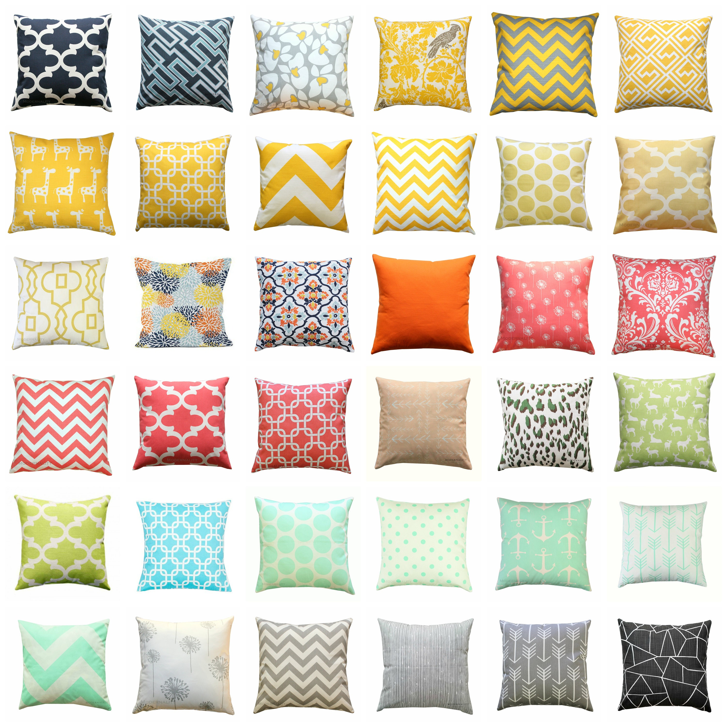 CLEARANCE Throw Pillow Covers Decorative Pillows Cheap