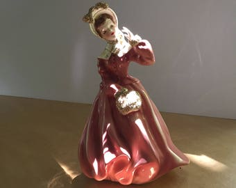 vintage Sue Ellen figurine Florence of Pasadena CA