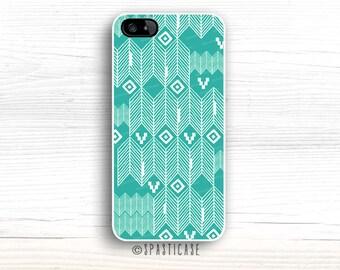 iPhone 6S Case, Aztec Pattern iPhone 5S Case, Mint iPhone 6 Plus, iPhone 6 Case, iPhone 5 Aztec Mint iPhone Case, iPhone 5C Case Mint iPhone
