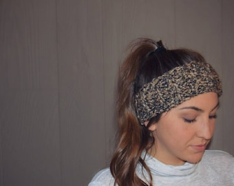 Handmade Crochet Headband, Womens Ear warmers, Custom colors, perfect winter gift for friends and family