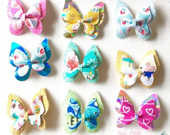 Butterfly Clip, Butterfly Bow, Summer collection