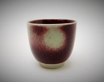 Japanese Studio Pottery.Yunomi/Tea Cup.by Yoshikuni Shibayama.#ynm14.msjapan.