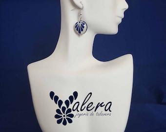 Talavera (circular earrings) jewelry