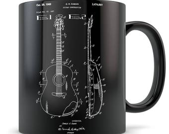 Acoustic guitar gift, acoustic guitar mug, guitar gift for men, guitar gift idea, guitar gift for women, guitar gift, guitar teacher gift