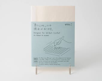 Midori MD Notebook, A6 size (grid, lined, or blank paper)