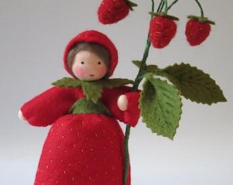 Wild Strawberry - Nature Table - Waldorf Inspired