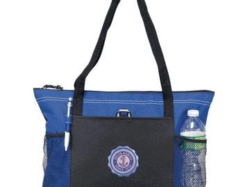 Delta Gamma Venture Emblem Tote Bag