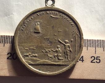 Bronze pilgrimage MARIA LUSCHARI