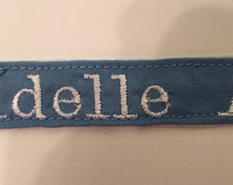 Personalized Name Iron On Patch