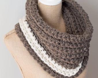 Crochet Cowl || Nalle Crochet || Ribbed Crochet Cowl
