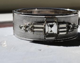 Vintage Art- Deco Style Cuff Bracelet