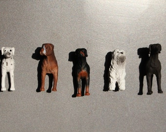 Set of 5 Dog Magnets