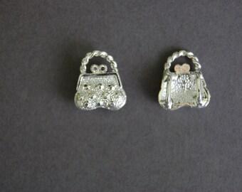 Silver Purse Slide
