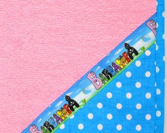 Cotton candy pink napkin