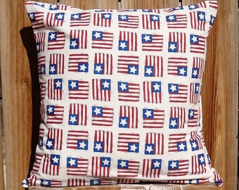 American Flag Pillow Sham -- Americana, USA