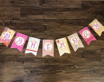 Vibrant Birthday Banner