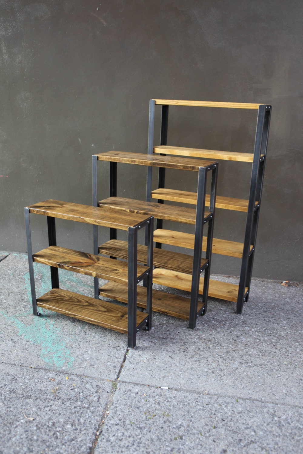 Reclaimed Wood Bookcase Reclaimed Wood Shelves Shelves