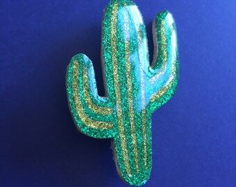 """Broche """"Cactus Aïe, Aïe, Aïe"""""""