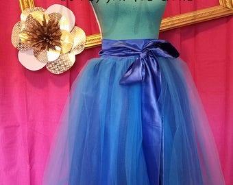 Adult Custom Made Wrap Around Tutu Skirt with Lining
