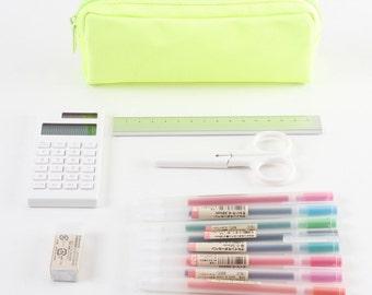 Colorful Pencil Case, Simple Pen Pouch, Pen Case, Zipper Pouch,Cosmetic Bag, Make up Bag,Dopp Kit,Polyester Pencil Bag,Pencil Case
