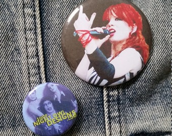Shirley Manson Garbage band handmade 2-1/4 inch pinback button pin pins buttons pingame badge badges
