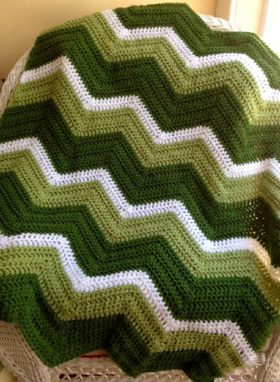 neue Chevron Zick Zack Welligkeit Baby Decke afghanische