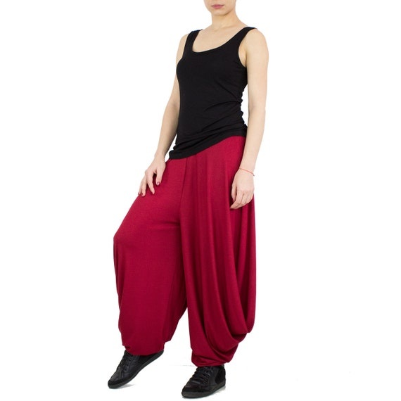 Loose pants/ Baggy pants/ Plus size pants/ Sweatpants/ Drop crotch pants/ Loose joggers/ Boho pants/ Yoga pants/ Harem pants 4x 5x COMFORT CkSbm