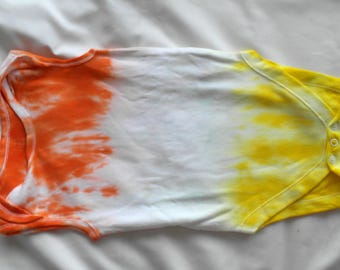 Tie Dye Baby-Grow