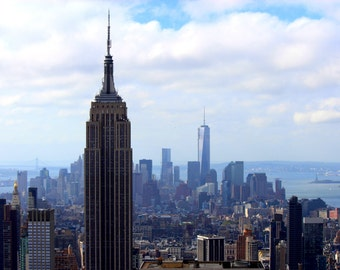 Empire State Building Photography | Wrapped Canvas Photography | New York Photography | Home Decor | Photography | Canvas | Empire State |