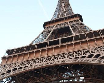 Eiffel Tower in Paris,  France 8x10 Print