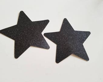 Glitter Star Nipple Sticker Disposable Pasties (Multiple Colors Available)