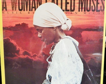 """Tommie Young Sings Themes From """"A Woman Called Moses"""" music by Van McCoy (1978) Cicely Tyson starred. Cult Collectible Recording"""