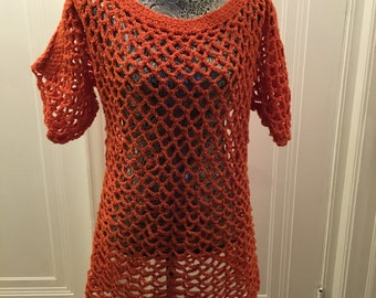Carrot Lace Blouse
