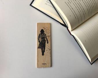 Snape Wooden Bookmark // Always
