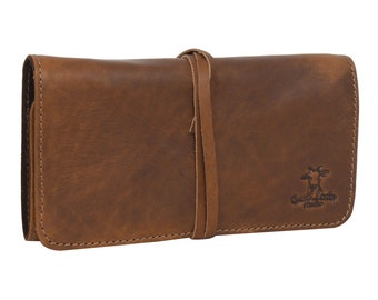 Gusti leather ' casper ' stationery case organizer