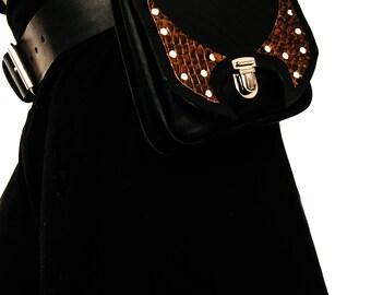 CASSIEL | Versatile leather utility belt, Tribal utility belt
