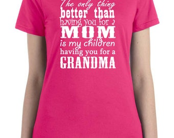 gift for grandma, grandma birthday, Mothers Day gift, pregnancy announcement, grandma shirt, promoted to grandma, pregnancy reveal, grandma