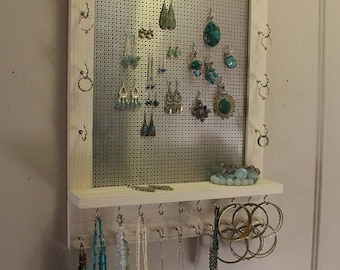 Modern jewelry rack Etsy
