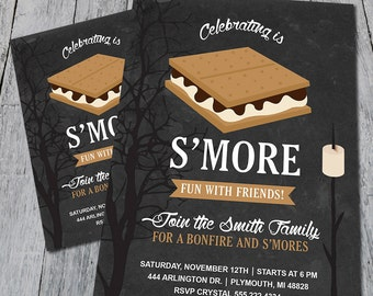 S'more Party Invitation (Digital)