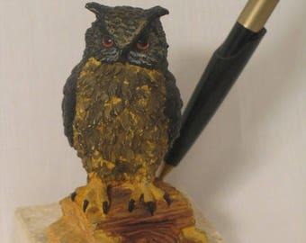 OWL pen holder, office