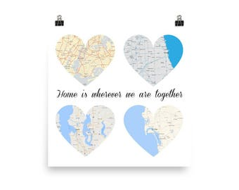 Us map with heart etsy gumiabroncs Images